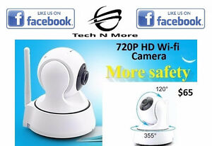 720P HD Wifi Motorized Camera