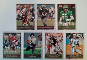 1996 Topps NFL Football Cards