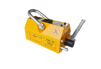 1000kg Steel Magnetic Lifter Heavy Duty Crane Hoist Lifting Magnet 2200lb New