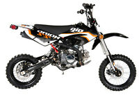 MOTOCROSS PIT BIKE APOLLO 125CC SS $949.99!! MINI MOTO DEPOT