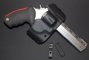 Black Kydex Holster for Taurus Raging Bull 44 mag OWB  right-handed