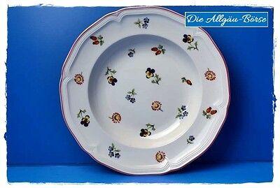 Villeroy Boch Petite Fleur  Suppenteller Geschirr Porzellan