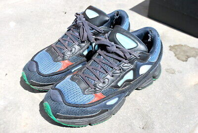 RAF SIMONS x ADIDAS OZWEEGO 2 NIGHT MARINE TRAINERS SNEAKERS 8 for sale  Shipping to South Africa