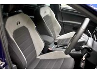 Golf mk7 R seats full set from a 2017 model due to leather upgrade