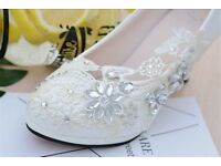 size 9 wedding shoes