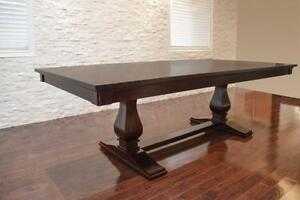 New! Modern Solid Mahogany and Maple Dining Tables