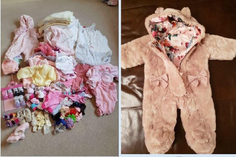 f88c8ba1d8dc Baby girl bundle clothes