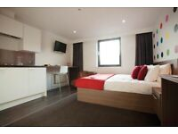 STUDENT ROOM TO RENT IN GLASGOW. STUDIO WITH PRIVATE ROOM, PRIVATE BATHROOM, PRIVATE KITCHEN