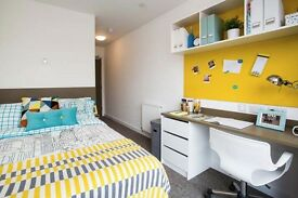 Student accommodation Located 8th Floor 1 double bedroom with own lockable door.