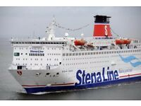 Two ferry tickets Holyhead to Dublin return LONG WEEKEND worth £130 15/06-19/06