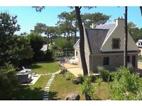 Villa/house 9 to 11 pers with jacuzzi, 5 min away from the beach, Brittany, France
