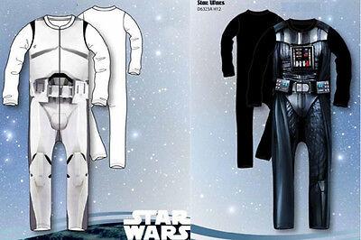 STAR WARS Kostüm Fasching Anzug Storm Trooper Darth Vader 4-5, 6-7 Jahre  NEU