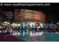 Apartment for rent at the Barcelo Royal Beach hotel complex in the centre of Sunny Beach Bulgaria