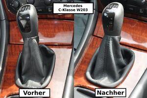 schaltsack mercedes c klasse w203 handschaltung f r