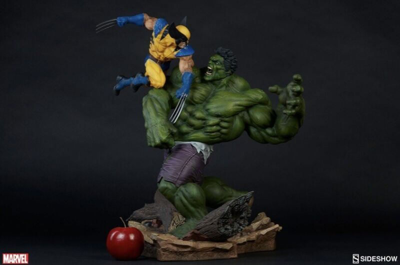 Sideshow Collectibles Hulk Vs Wolverine maquette New Regular Edition