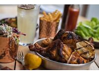 KITCHEN SUPERVISOR - CHICKEN SOCIETY - FINCHLEY - COMPETITIVE RATES + TIPS