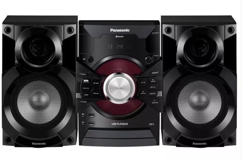 Panasonic DJ Jukebox Stereo System with Bluetooth and USB Music Play -  SC-AKX18 | in Falkirk | Gumtree