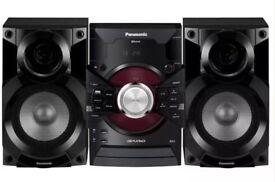 Panasonic DJ Jukebox Stereo System with Bluetooth and USB Music Play - SC-AKX18