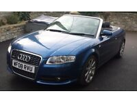 Audi A4 Convertible S-Line, 3.0 TDI Quattro, Low Mileage, EXCELLENT EXAMPLE!