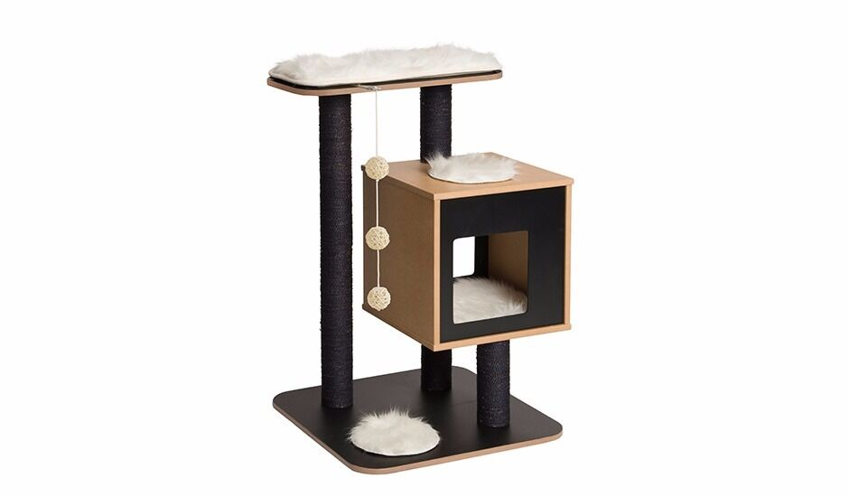 trendy cat furniture. designer cat tree house tower modern contemporary scratch post scratching gym toy climbing furniture trendy