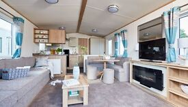 BRAND NEW CARAVAN ON SEA VIEW PITCH. LOVELY QUIET PARK LOOKING ACROSS THE NORTHUMBERLAND COASTLINE.