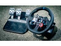 G29 Logitech steering wheel for ps4/3