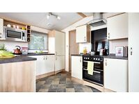 SALE luxury static caravan on 12 month season riverside wooler, northumberland