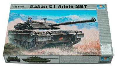 Trumpeter 9360332 Italienischer Kampfpanzer C-1 Ariete 1:35 Modellbausatz