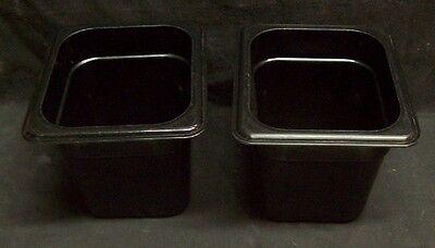 Restaurant Equipment Bar Supplies 2 Cambro Black 16 Food Pan