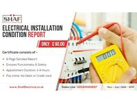 Electrical Installation Certificate from £150.00