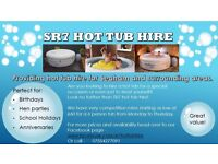 Hot tub hire for Seaham and surrounding areas