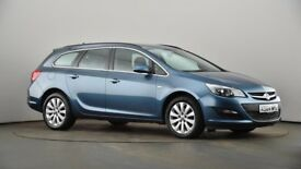 Vauxhall Astra Estate blue