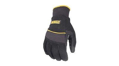 DeWALT Fleece Lined PVC Coated Work Gloves, Small