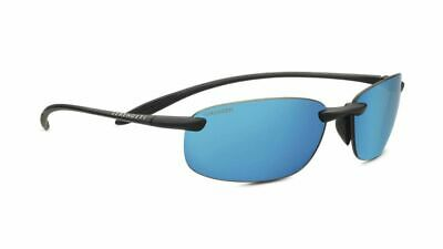 POLARIZED SERENGETI NUVOLA LM Satin Dark Gunmetal PHD 555NM Blue Sunglasses (Serengeti Nuvola)