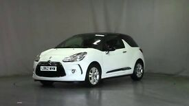 Citroen DS3 Dstyle Hdi 1.6L Diesel, White with Black roof