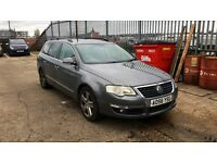 2006 VOLKSWAGEN PASSAT 2.0 SPORT AUTO 2 KEYS FSH LONG MOT PARKING FULLY LOADED BARGAIN!!!