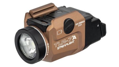 Streamlight TLR-7A Flex LED Tactical Weapon Light CR123A FDE 500 Lumens 69429