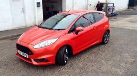 Ford Fiesta ST2 (exclusive Molten Orange) 182bhp Power Start 6 speed