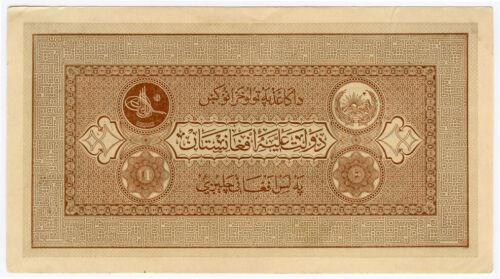 AFGHANISTAN 1926 ISSUE 10 AFGHANIS BANKNOTE VERY CRISP AU.PICK#8.