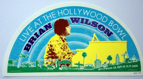 BRIAN WILSON Hollywood Bowl Concert Textured Print #ed Edition 2008 Beach Boys