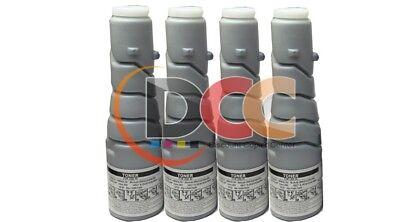 Compatible 4pk Black Toner For Bizhub 200 250 222 282 8938-413 T