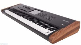 Korg Kronos 2 88 Music Workstation with stand, studio monitors, stool, boxed, mint condition
