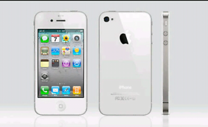 Iphone 4s white with heaps of cases Blackstone Ipswich City Preview