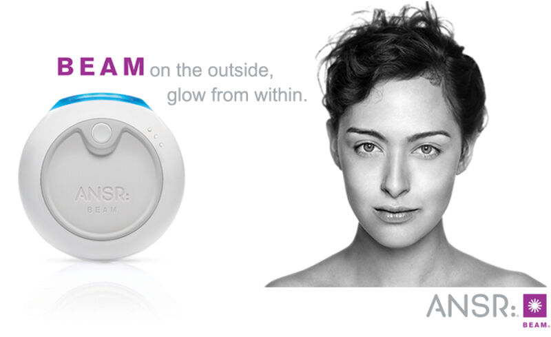 ANSR:Beam Red Blue Photo-LED Light Therapy for Acne Blemished Skin  NEW!