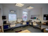 4 desks available now from £250.00 per desk per month