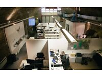 REDUCED! Creative Shoreditch office space - 2 x units for 4-6 ppl; 2 x single desks/hotdesks, 350mb