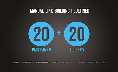 20 Pr9 20 .edu-.gov Backlinks From Authority Domains