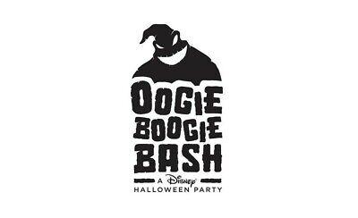 Oogie Boogie Halloween Bash Disneyland 10/31 3pm-11pm 2 tickets & Parking