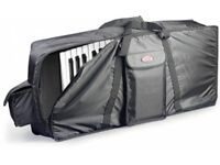 Stagg soft padded keyboard gigbag case for 61 key (KORG YAMAHA ROLAND MOTIF KRONOS FANTOM)