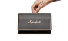 Marshall Stockwell Portable Bluetooth Speaker Black with Case 04091451